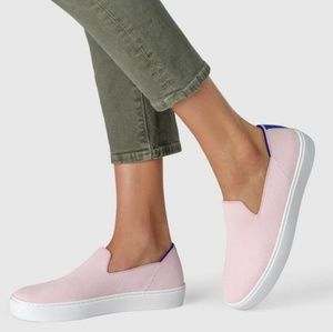 Rothys Sneaker Loafer Shoes Blush Pink